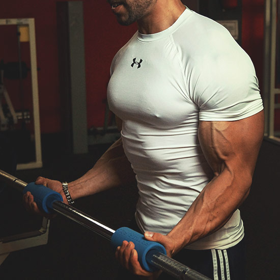 strong arms with fat gripz